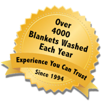 Over 30000 Blankets Washed Each Year